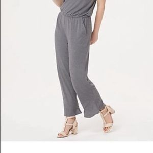 LOGO by Lori Goldstein Pants & Jumpsuits - NWT LOGO Lounge Lori Goldstein wide leg jumpsuit